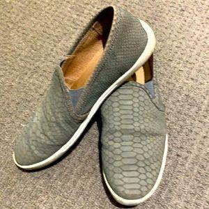 Joie Animal Print Slip On Sneakers